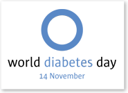 ShadowBoxWordDiabetesDay